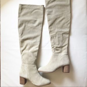 Tan OTK Suede Boots